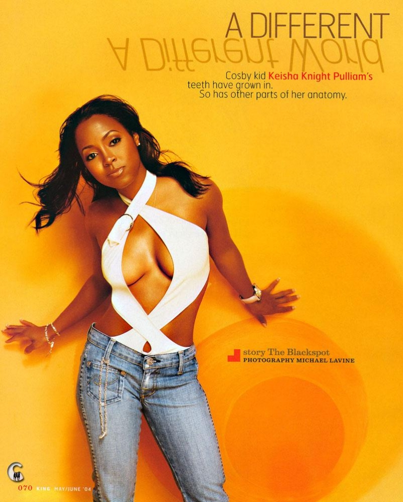 Keshia knight pulliam in the nude naked scene